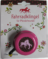 Children Bell with Rotary Action Pferdefreunde