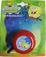 Children Bell with Rotary Action Sponge Bob