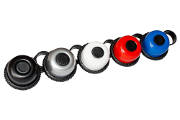 SWING INSIDE, 36mm, Alu, 1x black, 1x silver, 1x blue, 1x red, 1x white