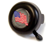 Safety Bell with Rotary Action, US Flag